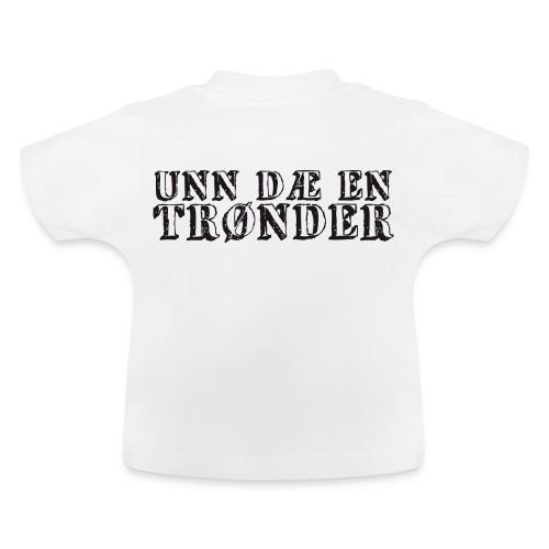 unndae - Baby-T-skjorte