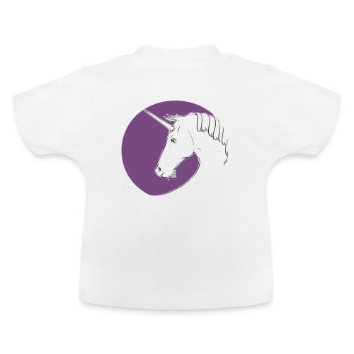 Einhorn Marlene von Hagen Violett - Baby T-Shirt