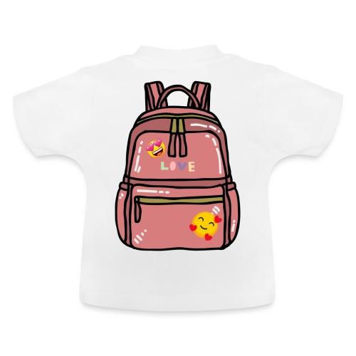 Emoji Backpack - Baby T-Shirt