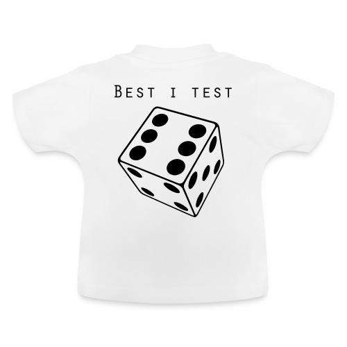 Best i test - Baby-T-skjorte