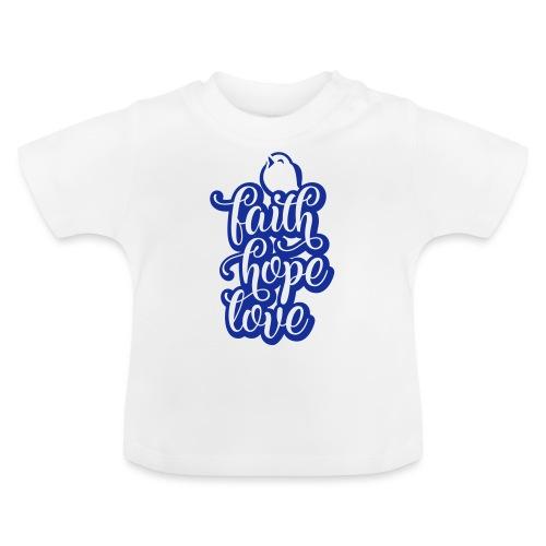 typo kinder 2016outline c - Baby T-Shirt
