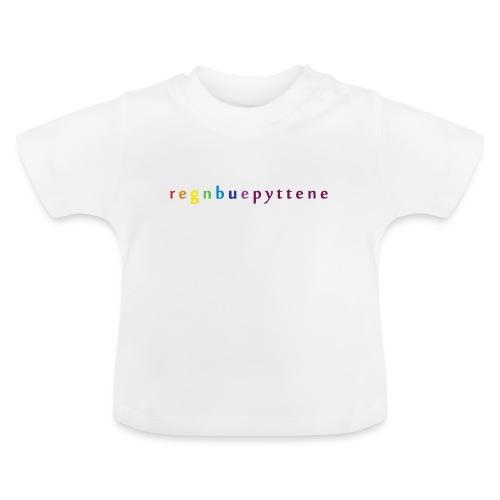 Regnbuepyttene - Baby-T-skjorte