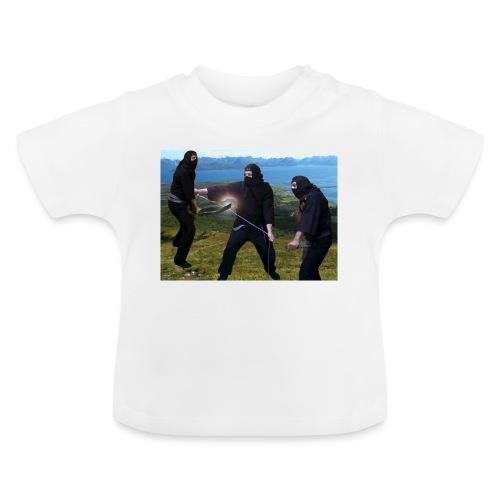 Chasvag ninja - Baby-T-skjorte