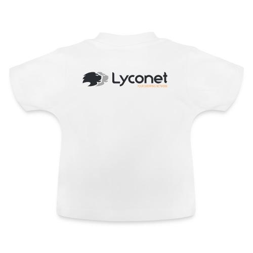 Lyconet White - Maglietta per neonato