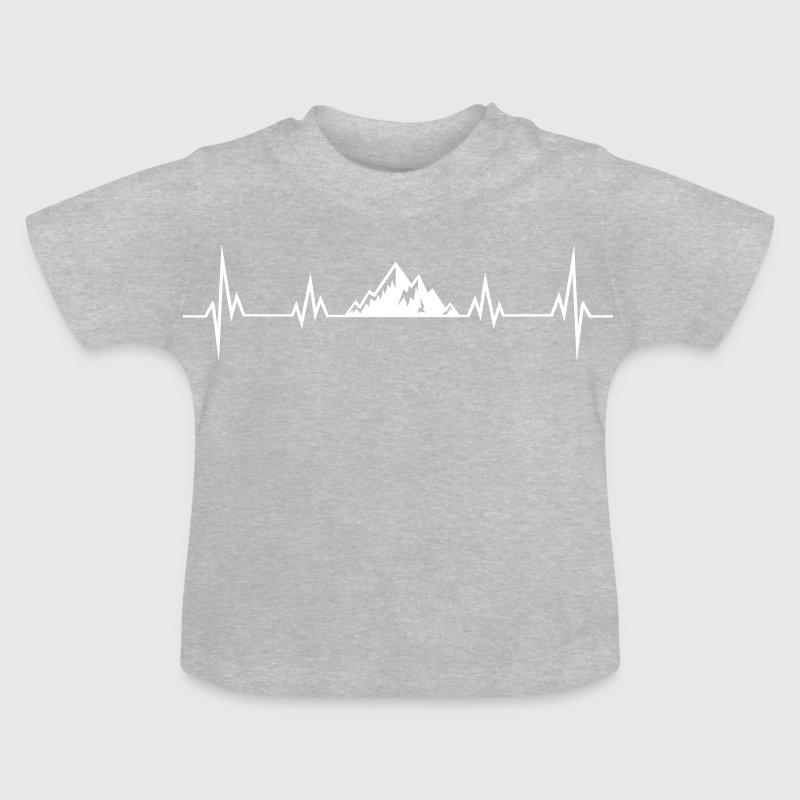 Bicie serca gór - Koszulka niemowlęca