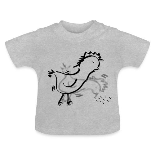 Das pickende Huhn - Baby T-Shirt