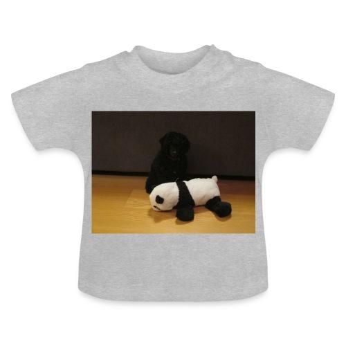 Maggie och pandan - Baby-T-shirt