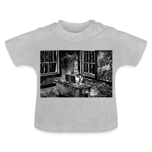 Marc podcasting in the zombie apocalypse - Baby T-Shirt