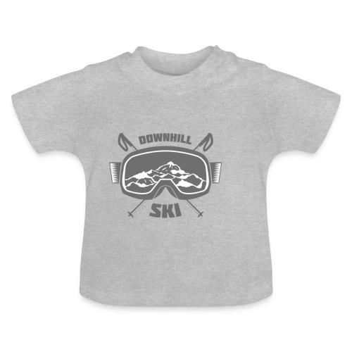 Downhill Ski - Baby T-Shirt