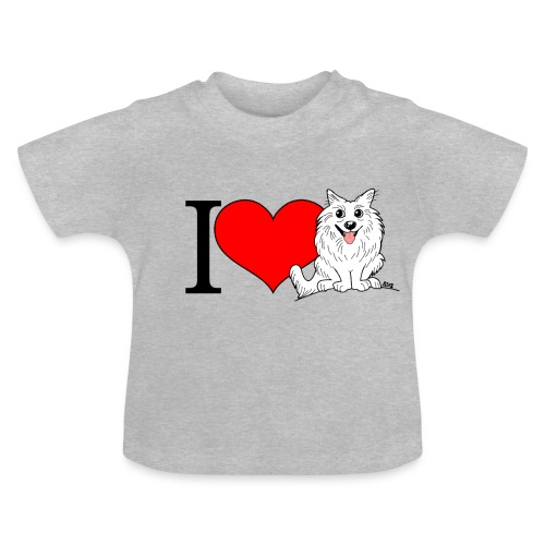 superkees zwart wit - Baby T-shirt