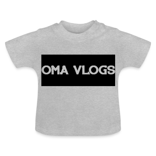Oma Vlogs Black Logo - Baby T-Shirt