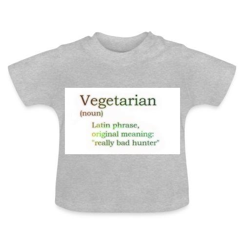 funny-vegetarian - Baby T-Shirt
