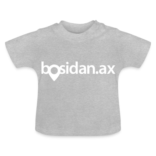Bosidan.ax officiella logotypen - Baby-T-shirt