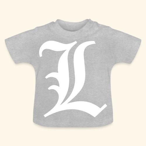 Diseño Tipo Death Note - Camiseta bebé