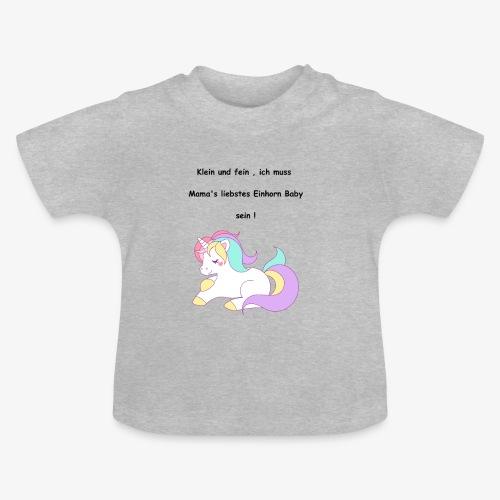 Einhorn Baby - Baby T-Shirt