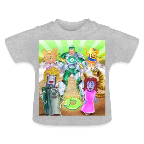 Captain Reece Icle - Baby T-Shirt