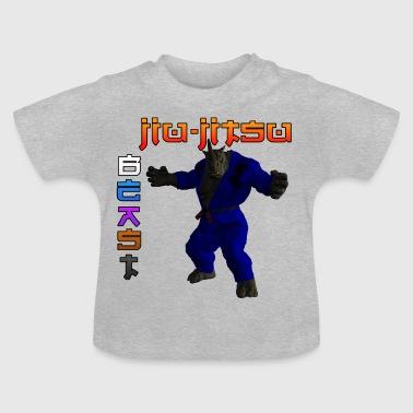 Jiu-Jitsu BESTIA RHINO - Camiseta bebé