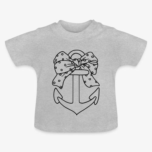 Ancre marine - T-shirt Bébé