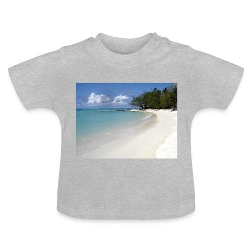 plage-ile-maurice - T-shirt Bébé
