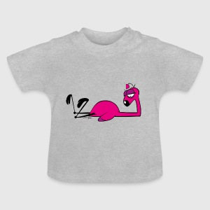 Flamingo PercyPink 01 - Baby T-Shirt
