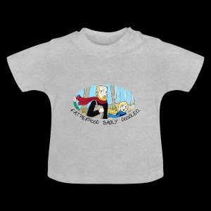 Fatherhood Badly Doodled - Baby T-Shirt