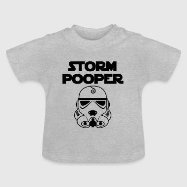 storm Pooper - Baby-T-skjorte