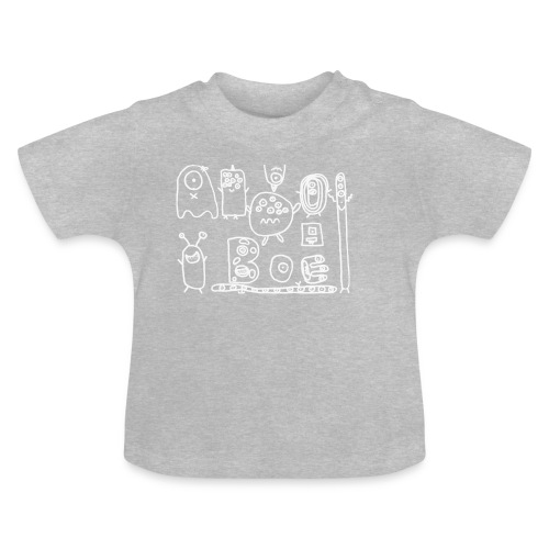 monsters-wit - Baby T-shirt