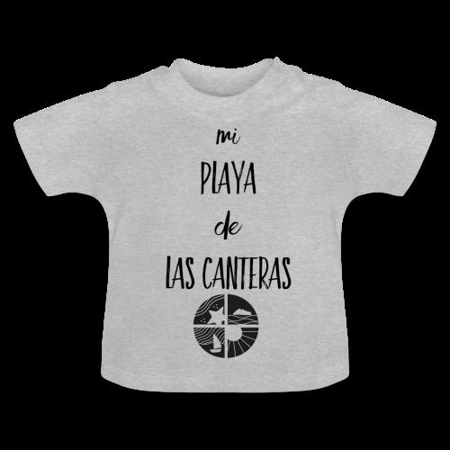 Mi playa de Las Canteras - Camiseta bebé
