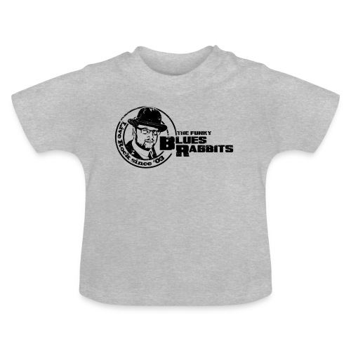The Funky Blues Rabbits Logo - Baby T-Shirt