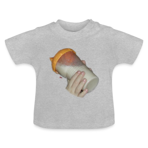 baby bottle - Baby-T-skjorte