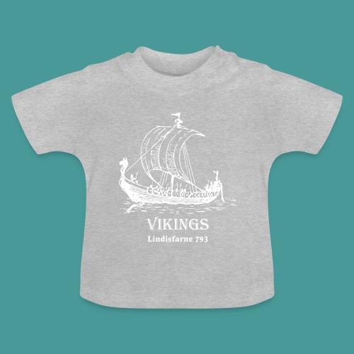 vikings Lindisfarne 793 - Baby-T-shirt