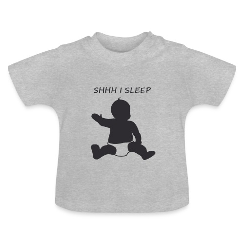 SHH I SLEEP - T-shirt Bébé