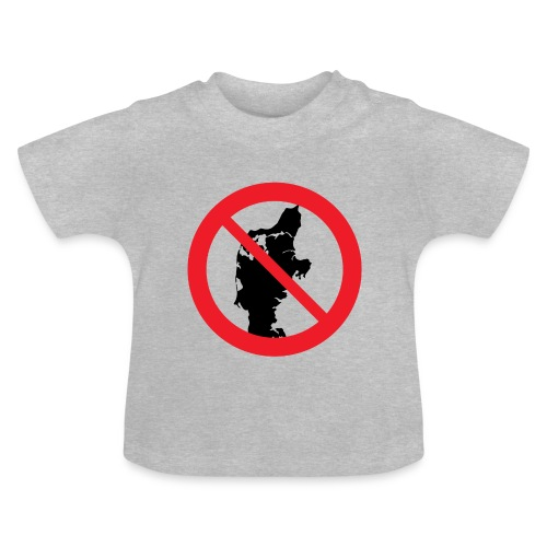 Jylland forbudt - Børnekollektion - Baby T-shirt