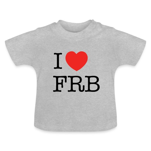 I Love FRB - Børnekollektion - Baby T-shirt