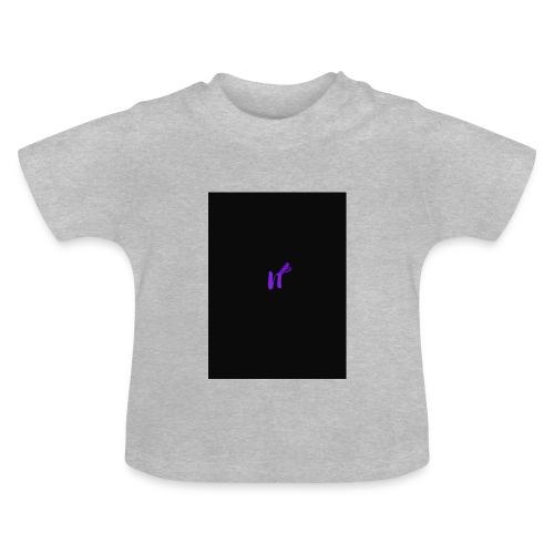 purple funky - Baby-T-skjorte