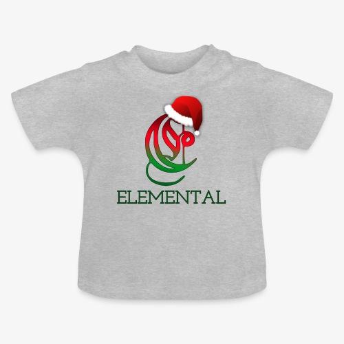 Exclusive Elemental Christmas Logo - Baby T-Shirt