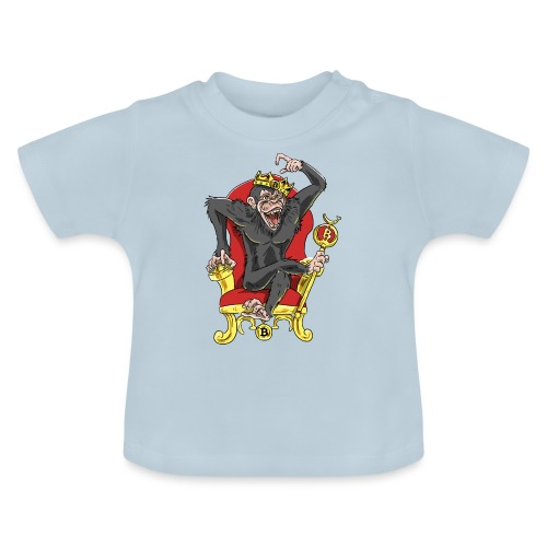 Bitcoin Monkey King - Beta Edition - Baby T-Shirt