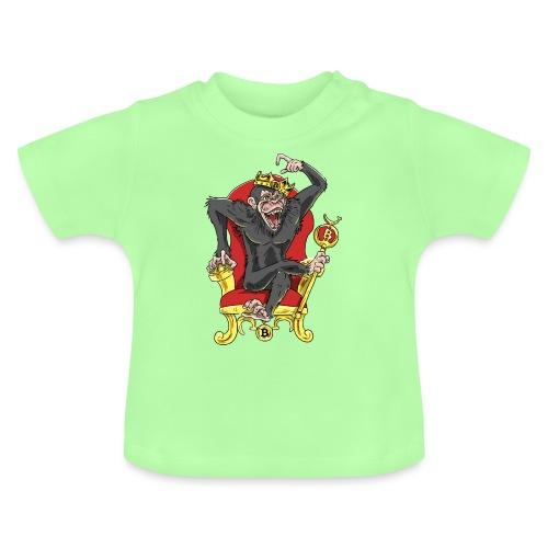 Bitcoin Monkey King - Beta Edition - Baby T-Shirt