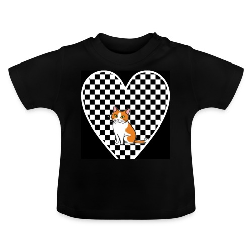 Charlie the Chess Cat - Baby T-Shirt