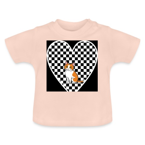 Charlie the Chess Cat - Baby T-Shirt