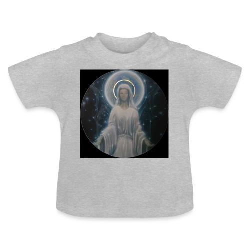 圣母玛利亚 Notre Dame by Jean Libon (Noir) - T-shirt Bébé