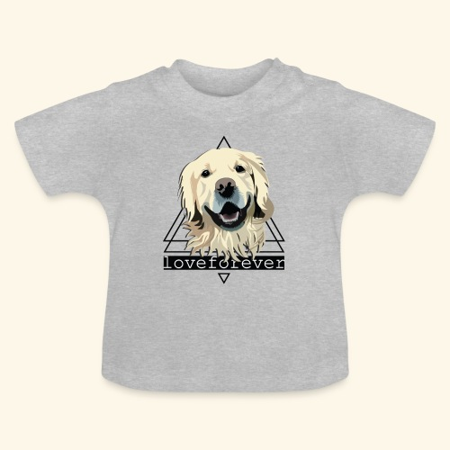 RETRIEVER LOVE FOREVER - Camiseta bebé