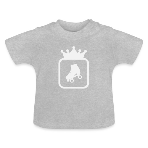 Speedskater Skating Krone - Baby T-Shirt