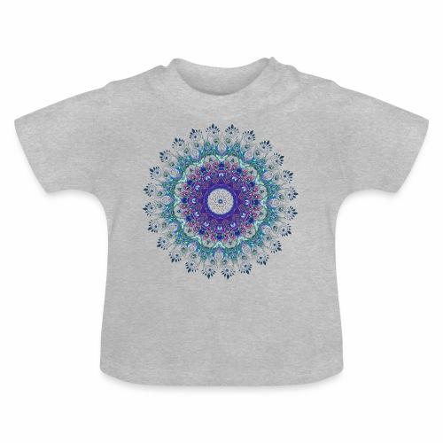 Mørk lilla mandala - Baby T-shirt