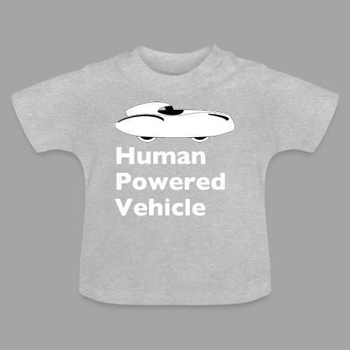 Quattrovelo Human Powered Vehicle white - Vauvan t-paita