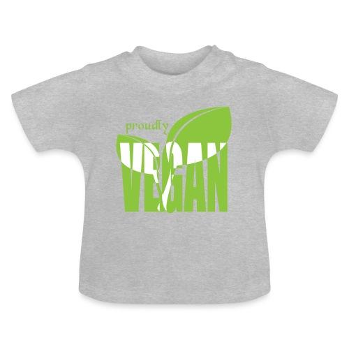 proudly vegan - Baby T-Shirt