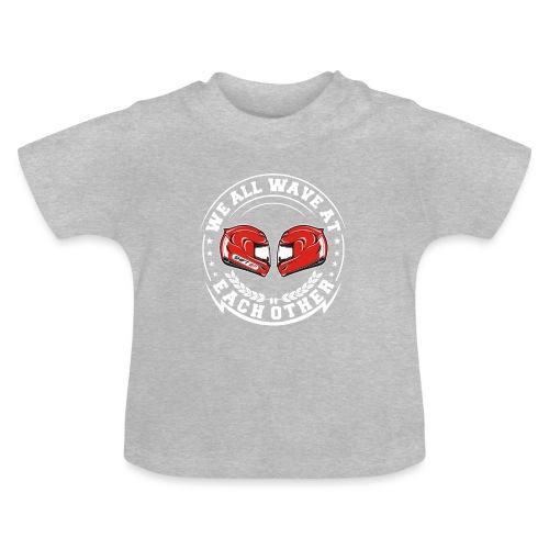 WE ALL WAVE - BLANC - T-shirt Bébé