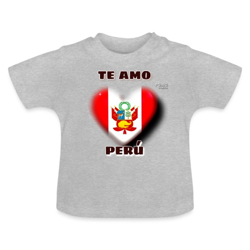 Te Amo Peru Corazon - Baby T-Shirt