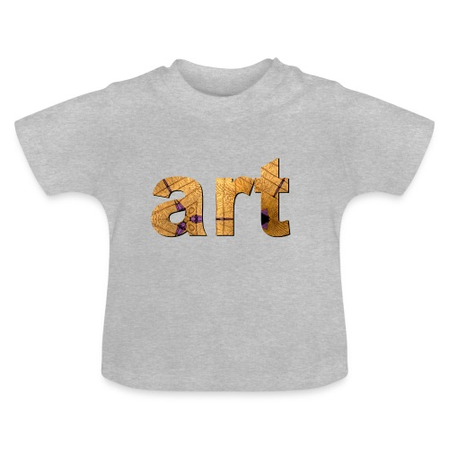 art - T-shirt Bébé