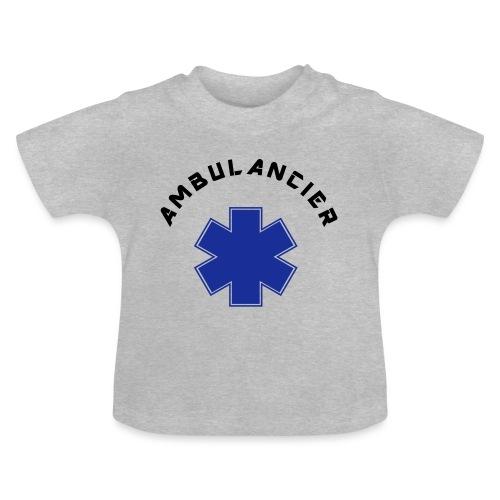 ambulancier logo - T-shirt Bébé